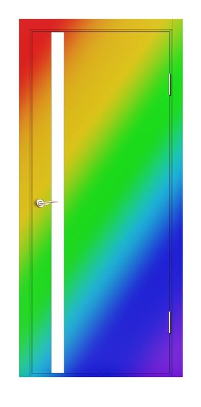 двери входные окраска по ралу